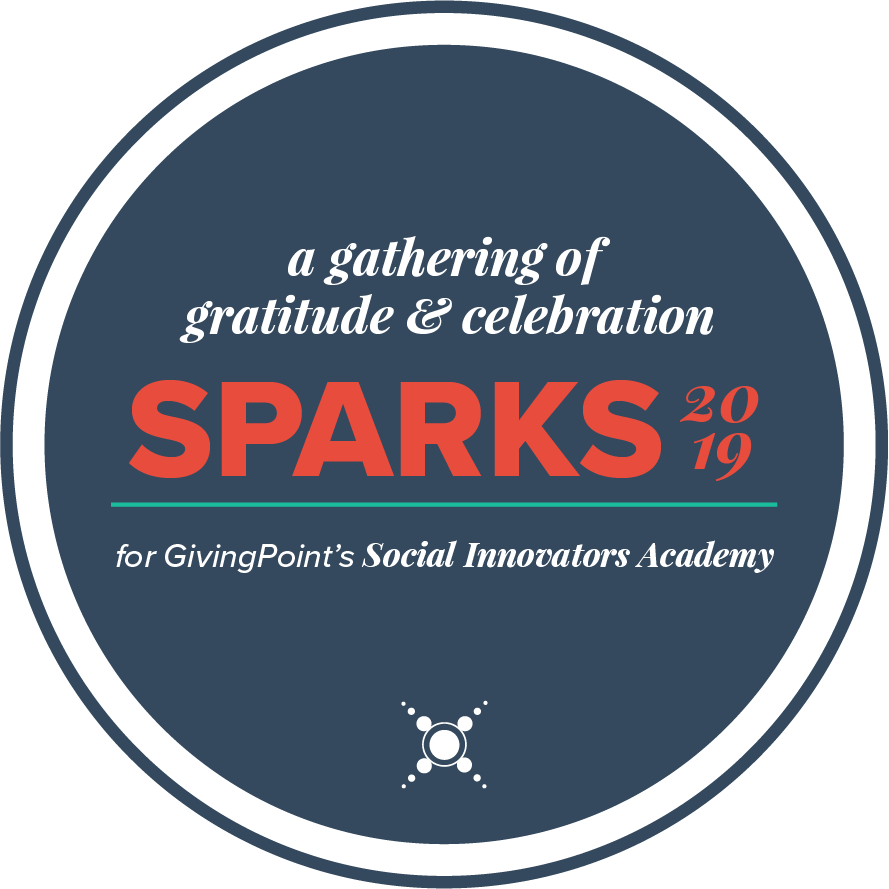 logo for our sparks event